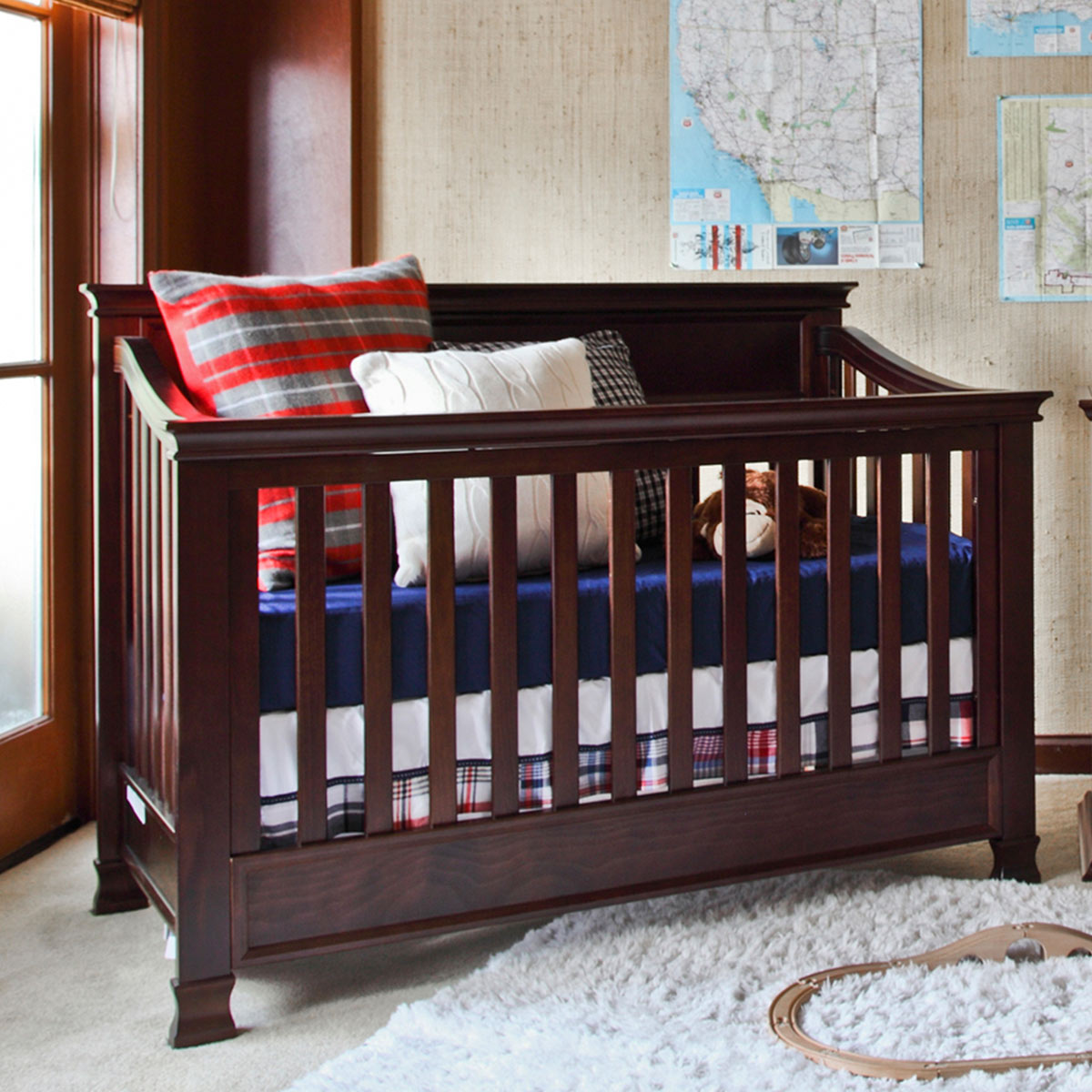 Million Dollar Baby Foothill 4 In 1 Convertible Crib Espresso Free