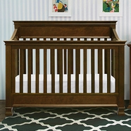 Million Dollar Baby Foothill 4-in-1 Convertible Crib in Espresso