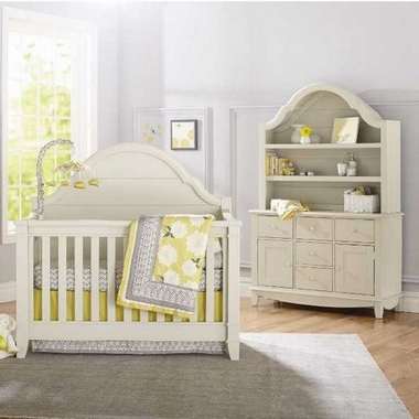 Million Dollar Baby Classic Sullivan 2 Piece Nursery Set   Convertible Crib  And Double Dresser In