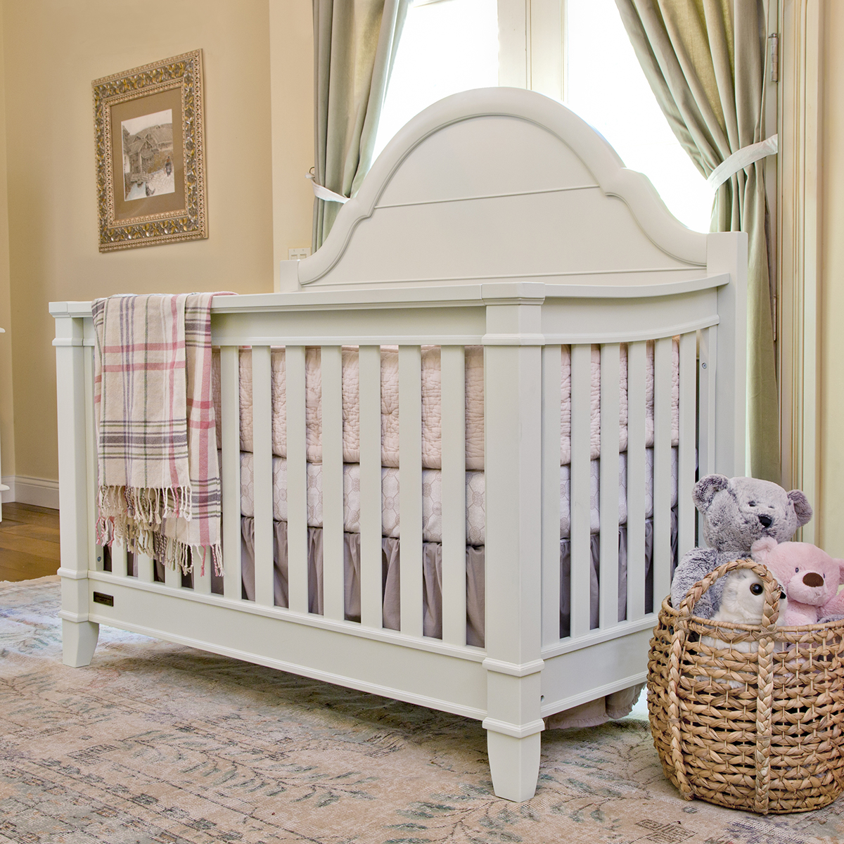 Million Dollar Baby Sullivan 4 In 1 Convertible Crib Dove White