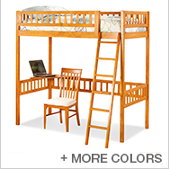 Mission Kids Beds Collection by Atlantic Furniture