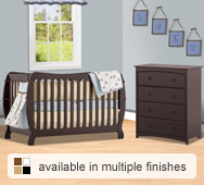 Monza II Convertible Crib Collection by Storkcraft