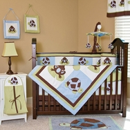 Mr. and Mrs. Pond Crib Bedding Collection by Pam Grace Creations