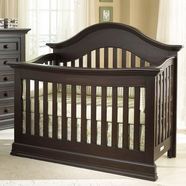 Munire Capri Convertible Crib in Dark Espresso