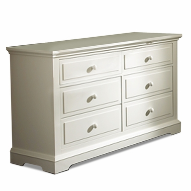 Munire Chatham 6 Drawer Double Dresser in Driftwood - Click to enlarge