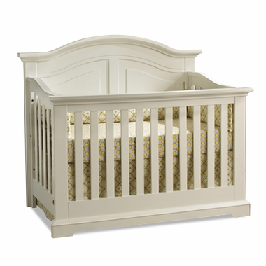 Munire Chatham Curve Top Crib in Driftwood - Click to enlarge