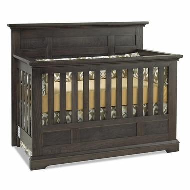 Munire Chatham Flat Top Crib in Slate - Click to enlarge