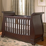 Munire Chesapeake Convertible Crib in Merlot