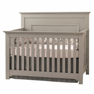 Munire Chesapeake Convertible Crib in Light Grey