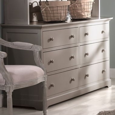 Munire Chesapeake Double Dresser in Light Grey - Click to enlarge