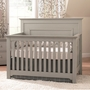 Munire Chesapeake Lifetime Crib in Light Grey