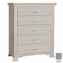 Munire Medford 5 Drawer Chest in Gray