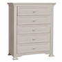 Munire Medford 5 Drawer Chest in White