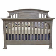 Munire Medford Convertible Crib in Grey