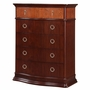 Munire Portland 5 Drawer Chest in Cherry