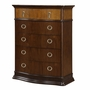 Munire Portland 5 Drawer Chest in Cinnamon