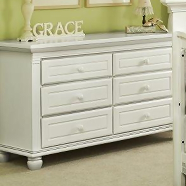 Munire Valencia 6 Drawer Dresser in White - Click to enlarge
