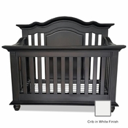 Munire Valencia Crib in White