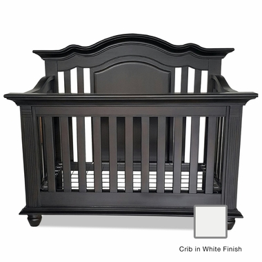 Munire Valencia Crib in White - Click to enlarge