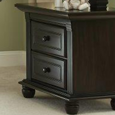 Munire Valencia Nightstand in Slate - Click to enlarge