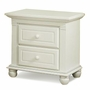 Munire Valencia Nightstand in White