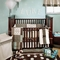 My Baby Sam Mad About Plaid Blue 4 Piece Baby Crib Bedding Set