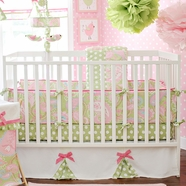 My Baby Sam Pixie Baby In Pink 3 Piece Crib Set