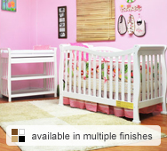 Nadia Convertible Crib Collection by AFG