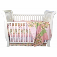 Nantucket Pink Crib Bedding Collection