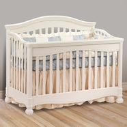 Natart Avalon Convertible Crib in Linen