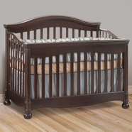 Natart Avalon Convertible Crib in Cocoa