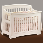 Natart Bella Convertible Crib in French White