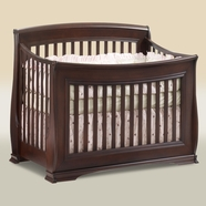 Natart Bella Convertible Crib in Cocoa