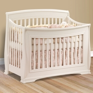 Natart Bella Convertible Crib in Linen