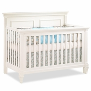 Natart Belmont Convertible Crib in French White