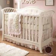 Natart Chloe Convertible Crib in Cocoa