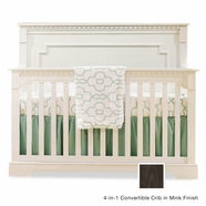 Natart Ithaca Convertible Crib in Mink