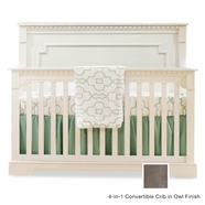 Natart Ithaca Convertible Crib in Owl