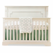 Natart Ithaca Convertible Crib in White