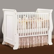Natart Joshua Convertible Crib in French White