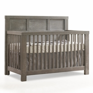 Natart Rustico Convertible Crib in Owl