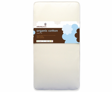 Naturepedic No-Compromise Organic Cotton 150 Crib Mattress