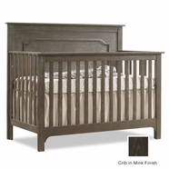 Nest Emerson Convertible Crib in Mink