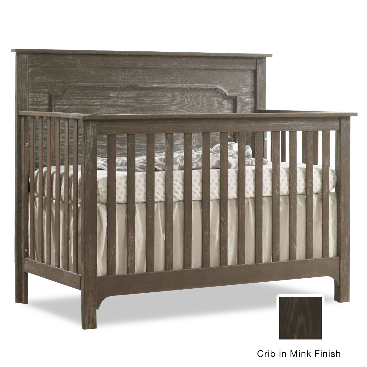 Enjoyable Nest Emerson 4 In 1 Convertible Crib In Owl Pdpeps Interior Chair Design Pdpepsorg