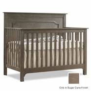 Nest Emerson Convertible Crib in Sugar Cane