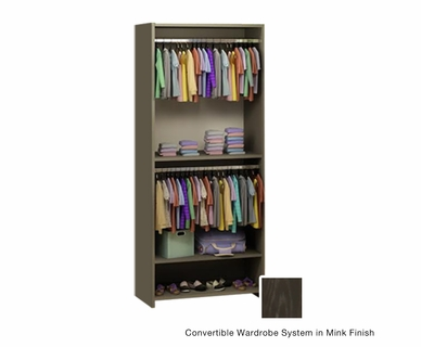 Nest Emerson Convertible Wardrobe System in Mink