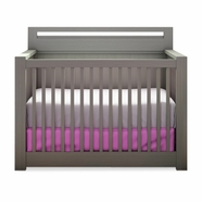 Nest Milano Convertible Crib in Anthracite