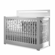 Nest Milano Convertible Crib in White