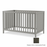 Nest Milano Classic Crib in Anthracite