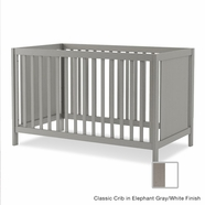 Nest Milano Classic Crib in French White